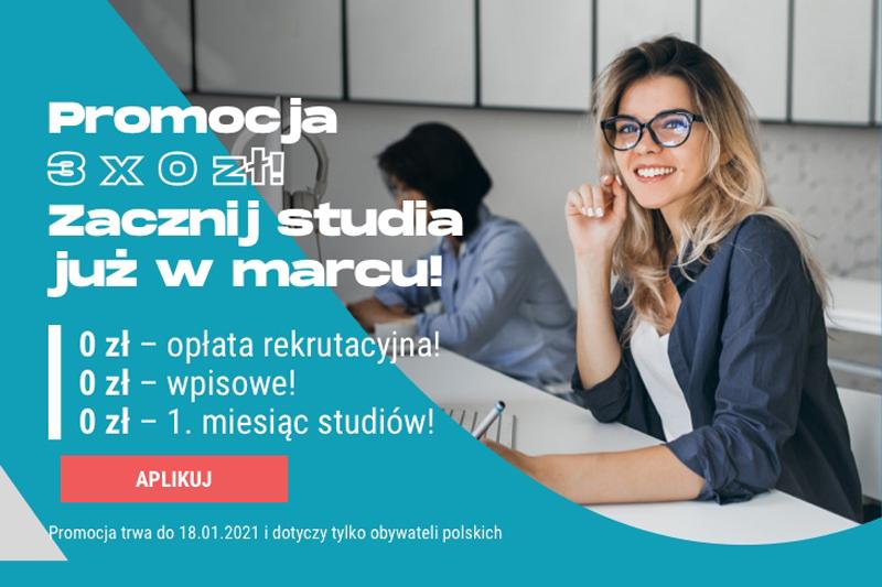 Vistula - zacznij studia w marcu