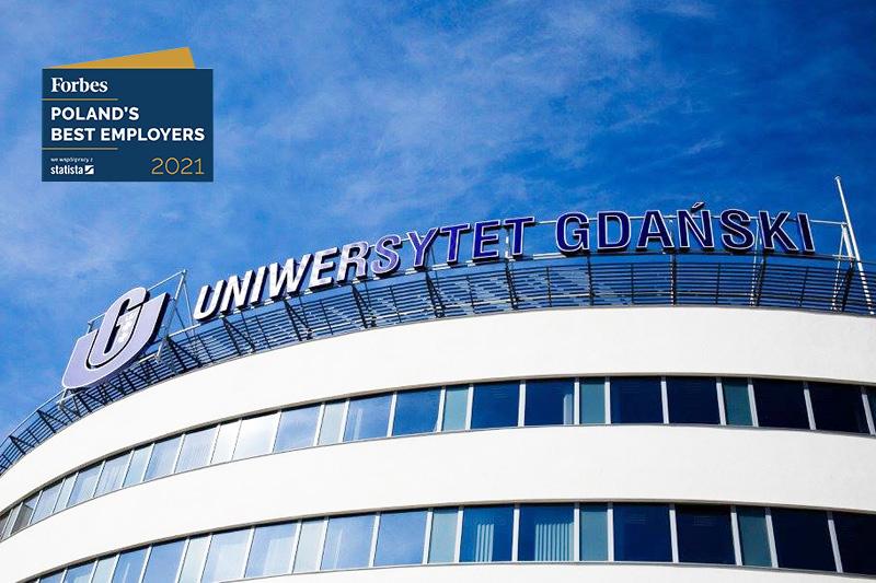 Uniwersytet Gdański - Forbes - ranking