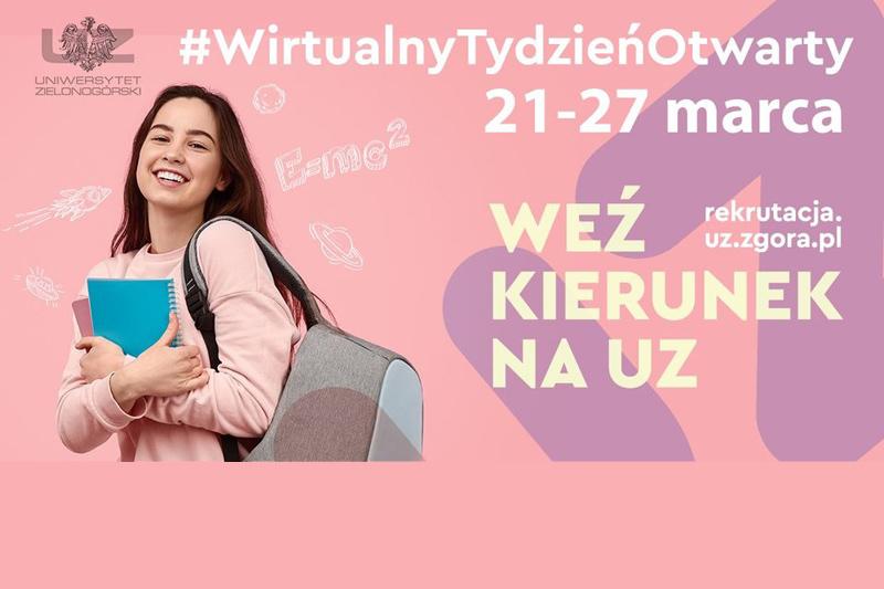 Uniwersytet Zielonogórski - Wirtualny Tydzień Otwarty