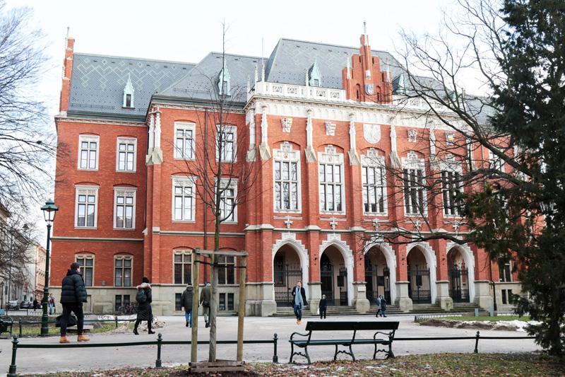 Uniwersytet Jagielloński - Uczelnie Kraków