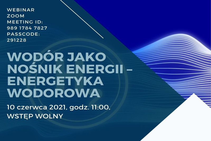 Wodór jako nośnik energii – wykład otwarty w WSEiZ