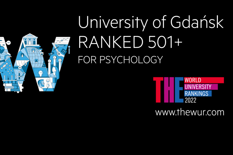 Uniwersytet Gdański w rankingu THE World University Rankings